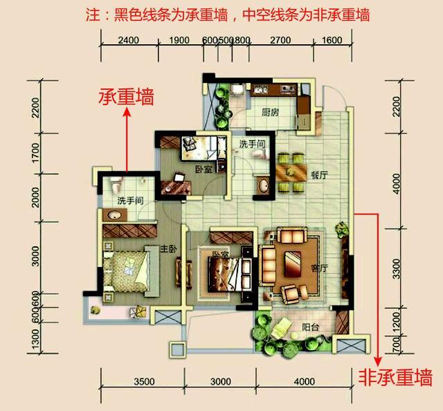 框架结构的房屋一般外墙为承重墙